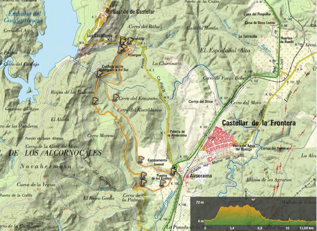 Mapa ruta la Mariposa Monarca